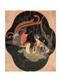 The Story of the Bird Feng Giclee Print by Edmund Dulac