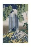 Yoro Waterfall, Mino Province Giclee Print by Katsushika Hokusai