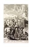 The Seige of Jerusalem Illustration Giclee Print