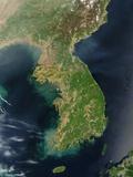Korean Peninsula Photographic Print