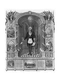 Washington as a Freemason Giclee Print