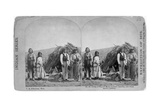 Apache Indians in Front of Wickiup Giclee Print