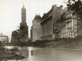 Plaza Hotel as Seen from Central Park Photographic Print