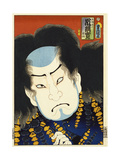 From the Series 'Famous Actors Past and Present' Giclee Print by  Utagawa Kunisada and U. Yoshitora