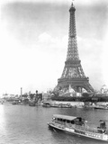 River Seine and Eiffel Tower Photographic Print