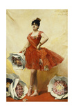 The Ballet Dancer Giclee Print by Leon Francois Comerre