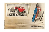 French Advertisement for Amilcar Giclee Print