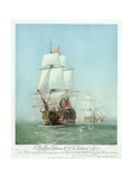 The First Journey of Victory,' 1778 Giclee Print