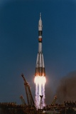 Launch of Soyuz T-13 Photographic Print by Roger Ressmeyer