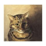 Tabby Cat Giclee Print by Louis Wain