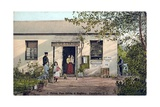Post Office and Police Station in South Africa Giclee Print