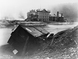 Aftermath of a Johnstown Flood Photographic Print