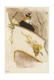 The Box at the Mascaron Dore Giclee Print by Henri de Toulouse-Lautrec