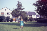 Germany - Bielefeld - 1960's Girl Portrait Photographic Print by Richard Baker