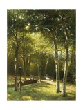 The Bridge in the Park Giclee Print by George W. Waters