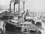 Vicksburg Levee Photographic Print