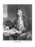 Captain James Cook Engraving after the Painting Giclee Print by Nathaniel Dance