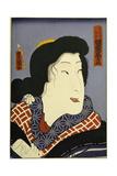 Bando Shuka I as Hashimotoya Giclee Print by  Utagawa Kunisada and U. Yoshitora