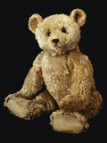 Steiff Pale Golden Plush Covered Teddy Bear Photographic Print