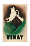 French Poster for Vinay Chocolate Giclee Print