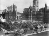 Philadelphia's City Hall Plaza Photographic Print