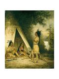 The Betrothal of Hiawatha Giclee Print