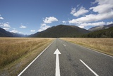 Highway in Fiordland National Park Photographic Print by Paul Souders