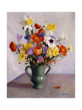 Spring Bouquet Giclee Print by William McGregor Paxton