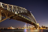 Harbour Bridge at Twilight Photographic Print by Paul Souders