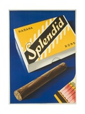 Splendid Cigar, Swiss Advertising Poster Impressão giclée