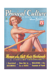 Cover of Physical Culture Magazine Giclee Print