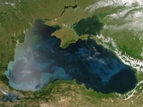 Low Earth Orbit View of the Black Sea Photographic Print