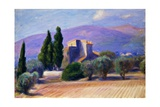 Farm House in Provence Giclee Print by William James Glackens