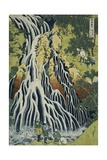 The Kirifuri Waterfall at Mt. Kurokami in Shimotsuke Province Giclee Print by Katsushika Hokusai