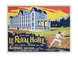 Le Royal Hotel French Advertising Poster Giclee Print