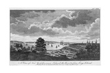 A View of New York, Governors Island, the River from Long Island Giclee Print by Jr., A. Hamilton