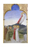 The Mystic Marriage of St. Francis of Assisi Giclée-tryk af Sassetta