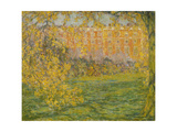Autumn, Hampton Court Giclee Print by Henri Le Sidaner