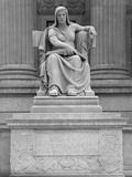 Statue of Clio, the Muse of History Photographic Print