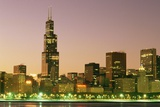 Sears Tower and Chicago Skyline Photographic Print by Roger Ressmeyer
