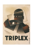Poster for Triplex Auto Glass Giclee Print