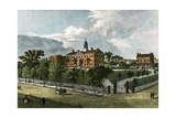 American Colleges Series: Rutgers University in 1844 Giclee Print