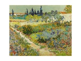 Garden at Arles Giclee Print by Vincent van Gogh
