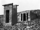 Ruins of the Temple of Dendur Photographic Print by Felix Bonfils