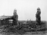 Stone Warriors Guarding Ming Tombs Photographic Print