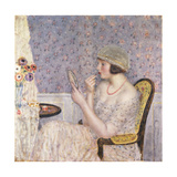 Woman at a Dressing Table Giclee Print by Frederick Carl Frieseke