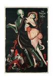 Dance of Death, Skeleton Giclee Print