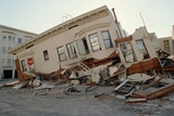 House Destroyed in Earthquake Photographic Print by Roger Ressmeyer