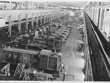 Locomotive Assembly Factory Photographic Print