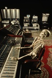 Skeleton at Mixing Boards Photographic Print by Roger Ressmeyer